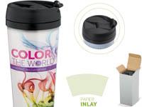 farbigem Henkel